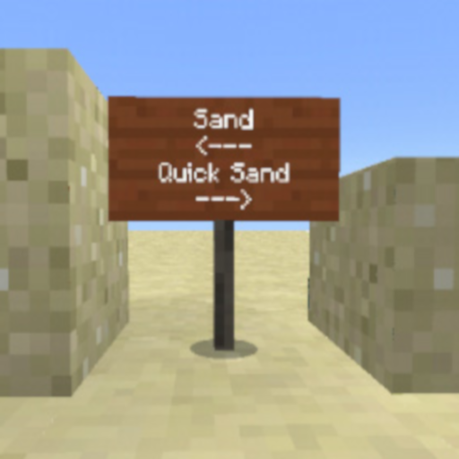 Quicksand Add-On For Minecraft PE