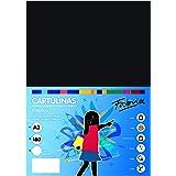 Pack 50 Cartulinas Color Negro Tamaño A3 180g