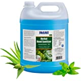 Jagat ISO Certified 5 Litre Hand Herbal Sanitizer with Aloevera, Tulsi & Neem Leaf Extracts, 70% Alcohol Based Herbal…