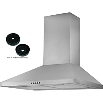 Delicieux Cookology CMH605SS 60cm Chimney Cooker Hood In Stainless Steel | Kitchen  Extractor Fan | Recirculating Filters Included