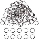 ✮MARQUE FRANCAISE✮-CZ Store®-anneaux de reliure 100PCS+25MM ✮✮GARANTIE A VIE✮✮-anneaux porte clé en metal pour livre/cahier/s