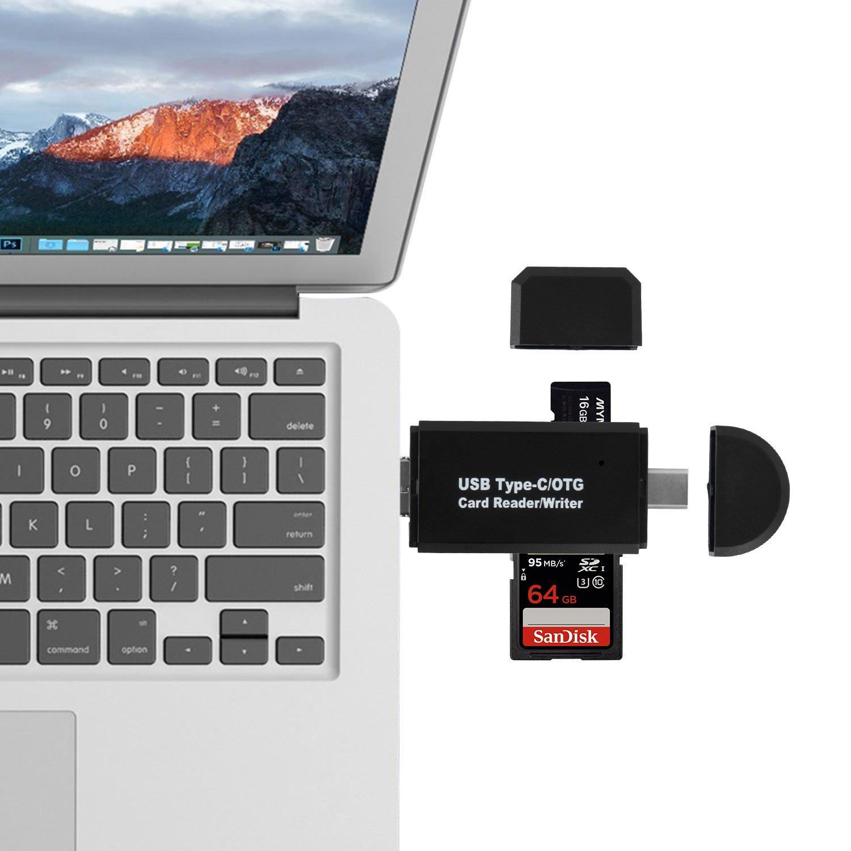 9df5046fcb46 Lecteur Carte SD Micro SD Card Reader USB – Sonoka 3 en 1 USB 2.0 ...