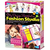 4M- My Design Portfolio Fashion Studio Playset, Multicolore, 00-04720