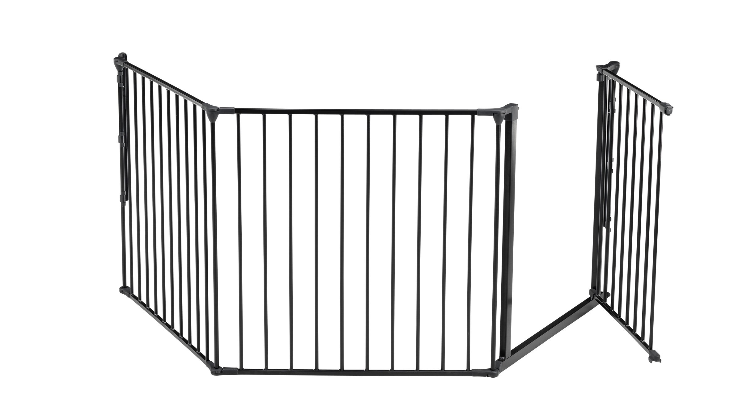 BabyDan Configure (Large 90-223cm, Anthracite) BabyDan Only configure system fulfilling newest european safety standard Multi purpose room divider and gate for wider openings Flexible and easy to fit 4