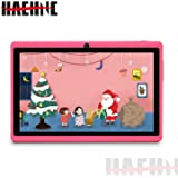 Haehne 7 Zoll Tablet PC, Google Android 9.0 GMS Zertifiziertes, Quad Core 1GB RAM 16GB ROM, Zwei Kameras, 1024 x 600 HD…