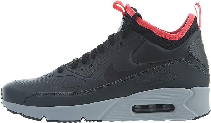 Nike Men's Air Max 90 Ultra Mid Winter Sneakers Black