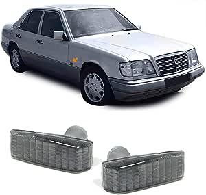 Carparts Online 12161set Seitenblinker Schwarz Smoke Auto