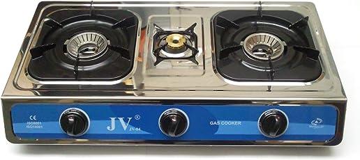 CAGO Gaskocher mit Turboflamme 3-flammig