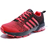 Senbore Scarpe da Corsa Sportive Running Sneakers Fitness Casual Ginnastica Respirabile