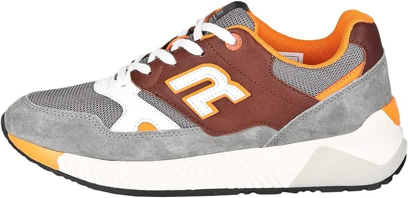 Replay Herren Sneaker Hawthorn Lederbesatz:
