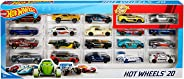 Hot Wheels Mattel H7045 20 Car Gift Pack -Design and color may vary