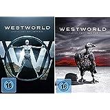 Westworld Staffel 1+2 / Das Labyrinth + Das Tor / Die Serie [DVD Set]