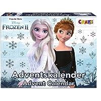 CRAZE Adventskalender FROZEN II Weihnachtskalender 2021 Eiskönigin Eisprinzessin für Mädchen Spielzeugkalender…