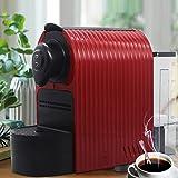 ماكينة كبسولات القهوة 1350 واط لكبسولات القهوة من نسكافيه وكبسولات قهوة لافازا بلو، وكبسولات قهوة لافازا بوينت، ضغط 19 بار، خ