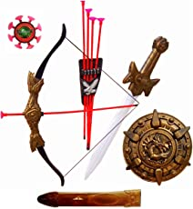 Halo Nation Bahubali Weapon Set for Kids - Archery Set, Kings Sword of Pride, & Many More Accessories (Power)