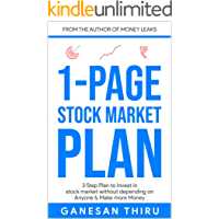 1 Page Stock Market Plan: 3 Step Plan to Invest in stock market without depending on Anyone & Make more Money (1 Page…