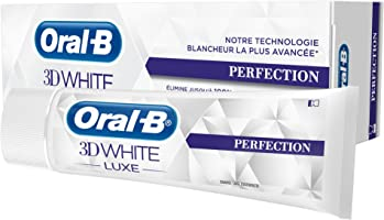 Oral-B 3D White Luxe Perfection Dentifrice 75 ml - Lot de 2