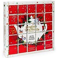 """English Tea Shop - Puzzle Tee Adventskalender """"Red Christmas"""", 25 weihnachtliche Premium BIO Tees"""
