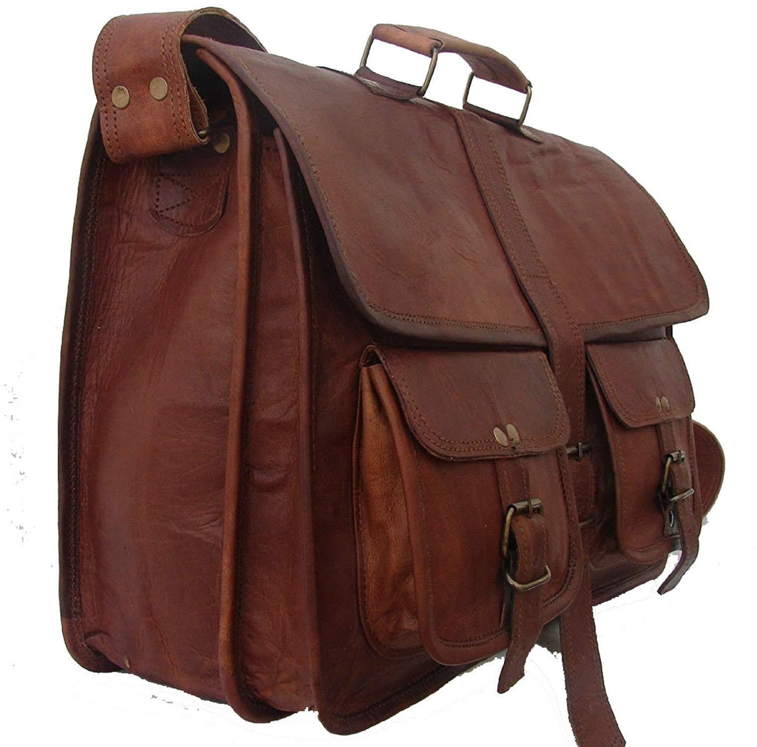 e3981cadd9 Vintage Soft Leather Messenger 16