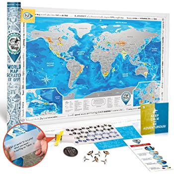 Discovery map world world map with scratch off detailed travel discovery map world world map with scratch off detailed travel content large size gumiabroncs Choice Image