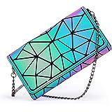 LOVEVOOK Handtasche Damen Geometrische Tasche Schultertaschen Umhängetaschen Einzigartige Geldbörsen