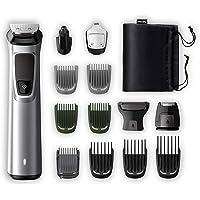 Philips mg7720/15 – Tondeuse barbe et précision 14 en 1 Tecnologia DualCut, autonomie de 120 minutes