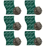 Scotch-Brite Steel Ball (Pack of 6) and Scrub Pad (Pack of 6)