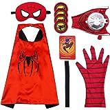 Capa de Superhéroe para Niños - Miotlsy Divertidos Superhéroes Capas para Niños - Disfraces Infantiles para Cosplay de Fiesta