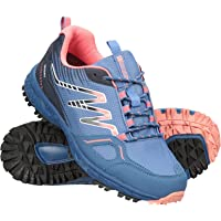 Mountain Warehouse Lakeside Trail Waterproof Womens Walking Shoe - Phylon Midsole Hiking Boots, Lightweight, Rubber…