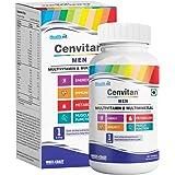 Healthvit Cenvitan Men Multivitamin & Multimineral with 24 Nutrients (Vitamins and Minerals)   Anti-Oxidants, Energy, Metabol