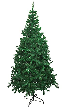 Hausen 6FT/180CM Traditional Green Indoor Artificial Christmas ...