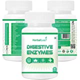HerbalLeaf digestive enzymes | new formula now with resveratrol | aloe | senna | 18 all natural ultra enzymes | supports…