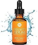 Das beste Vitamin C Serum für Ihr Gesicht mit 20% Vitamin C + Hyaluronsäure + Vitamin E + Jojobaöl. Natürliche AntiAging…