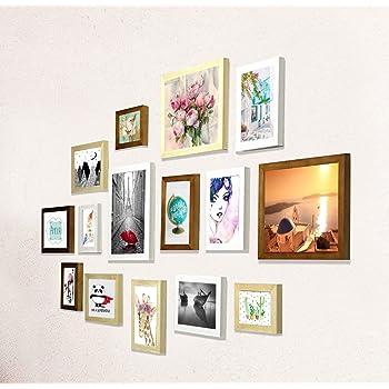 e82999c1547 Buy PRINTELLIGENT Memories Set of 15 Individual Photo Frames
