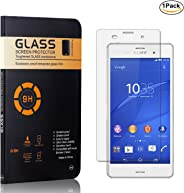 MoKiin Tempered Glass Screen Protector for Sony Xperia Z3, Bubble Free, 9H Hardness Anti Scratches Screen Protector Film, Hi