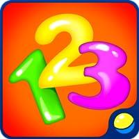 Lernzahlen für Kleinkinder - lustiges Lernspiel für Vorschulkinder zum Erlernen von Zahlen von 1 bis 9 in Englisch, Spanisch, Russisch, Italienisch, Französisch, Deutsch, Portugiesisch. Das animierte interaktive Spiel trainiert Feinmotorik