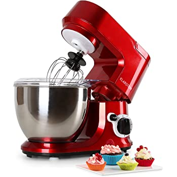 Klarstein carina rossa robot de cuisine m langeur p trin 800 w 4 litres syt me - Robot de cuisine petrin ...