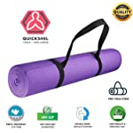 Yoga Mat by Quick Store for Men|Mats for Women Non Slip & Smell Free|Stay FIT and Healthy