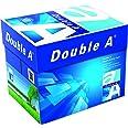 Double A - Printer Copy Paper, Size A4, GSM 80, 500 Pages Ream (Bundle of 5 Reams)