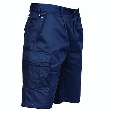 Work Combat shorts Navy by portwest S790: Amazon.co.uk: Clothing