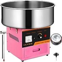 SucceBuy Machine à Barbe à Papa Professionnelle Cotton Candy Machine Idéale pour Anniversaires et Festivals (rose)
