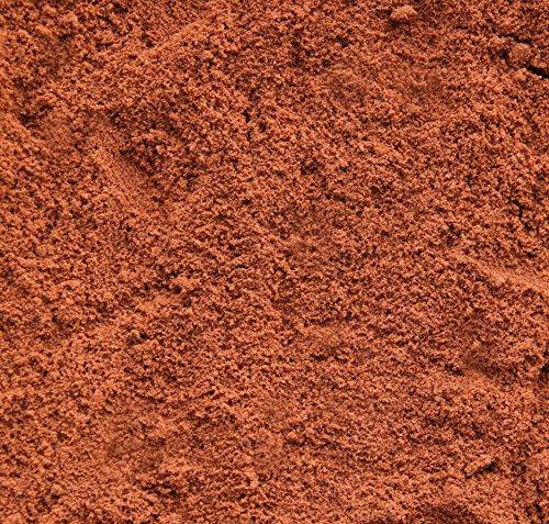 Terrariensand Sand rot 25 kg grabfähig / formbar