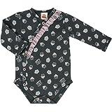 Kollektion Eule- Makoma Baby-Mode M/ädchen Stramplerhose Hose mit Fu/ß Babyhose 56-68