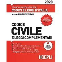 Codice civile e leggi complementari 2020 PDF Libri