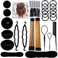 Lictin Ciambella Chignon Accessori Acconciature - Magic Bun Maker Chignon Facile per Capelli,Capelli Pins, Pastiglie…