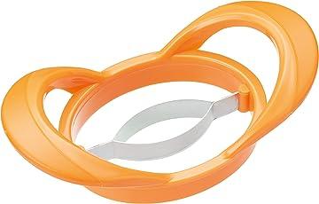 Kitchen Craft Gesunde Ernährung 2-in-1-Mango Cutter/Pitter–Orange