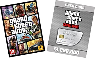 GTA V & Great White Shark Card Bundle [Code Jeu PC] (B07BH5GX69) | Amazon price tracker / tracking, Amazon price history charts, Amazon price watches, Amazon price drop alerts