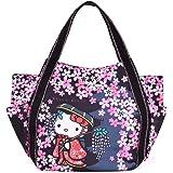 Hello Kitty Tragetasche für Mütter, japanisches Muster, Kitty-wg, Sakuran (japanisches Geisya)