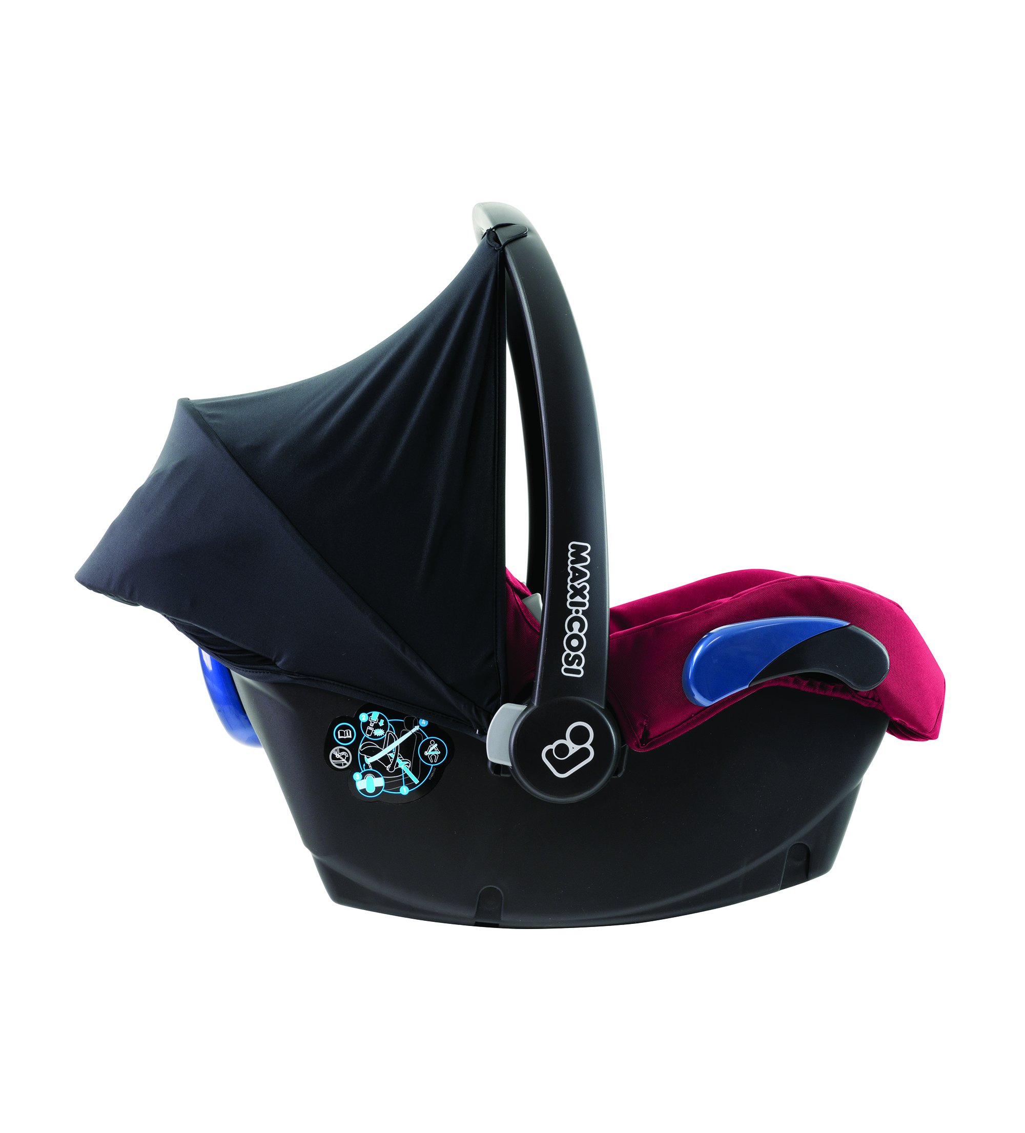 Maxi-Cosi Kinderautositz Citi Robin Red Maxi-Cosi Side protection system, guarantees optimal protection in the event of a side impact Lightweight, light weight and ergonomically shaped safety bar for use as carrying handle Practical travel system 10