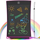GUYUCOM LCD Writing Tablet, 8.5 inch Drawing Board Erasable Doodle Board with Lock Function for Kids Learning Tool…